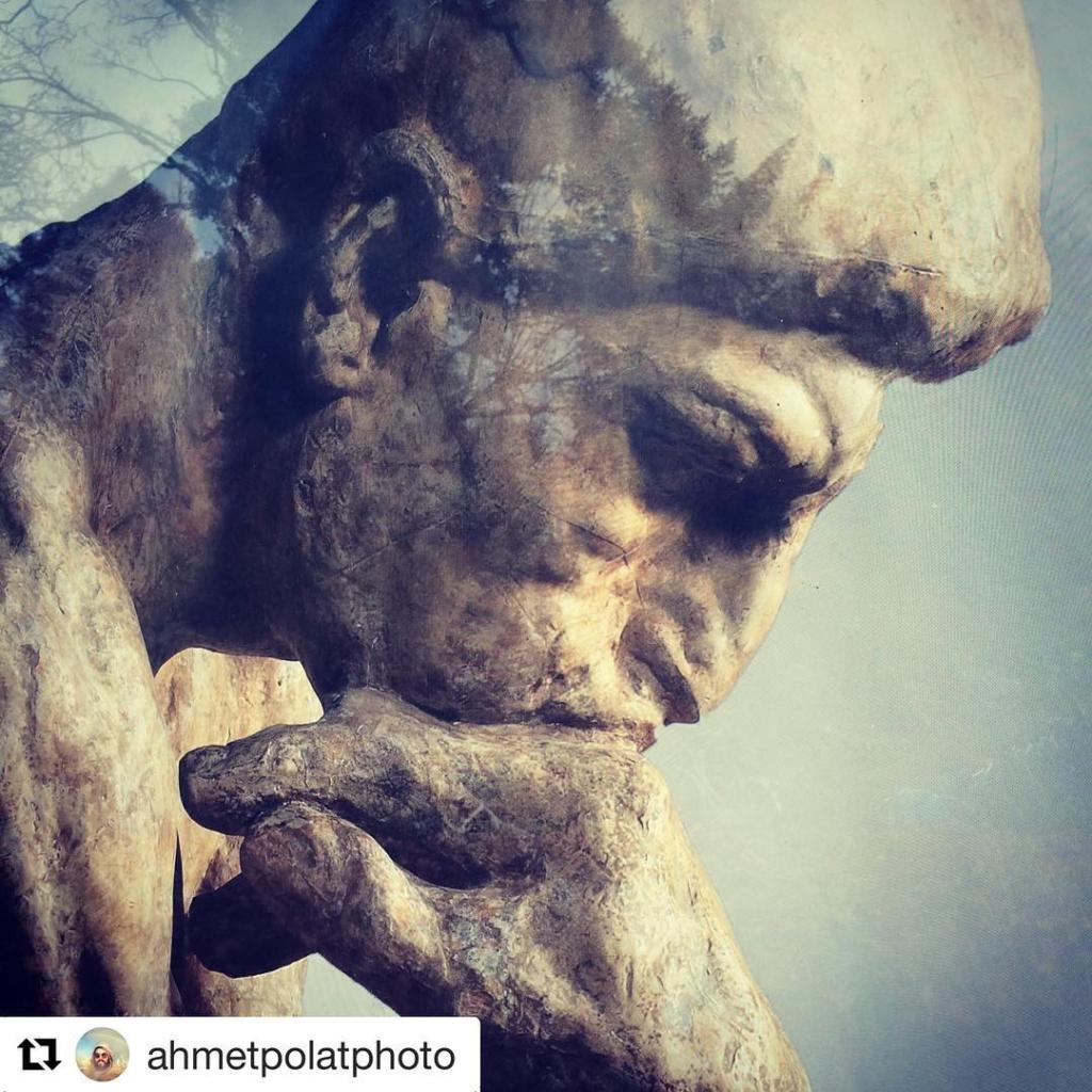 #Repost @ahmetpolatphoto with @repostapp ・・・ #dedenker #rodinthethinker #rodin #ahmetpolatphoto #demanislam